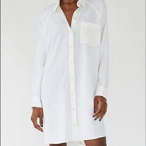 Wilfred Boyfriend Button-Up Dress